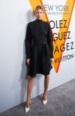 MARTHA HUNT at Volez, Voguez, Voyagez: Louis Vuitton Exhibition Opening in New York 10/26/2017