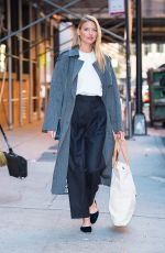 MARTHA HUNT Out and About in New York 10/19/2017