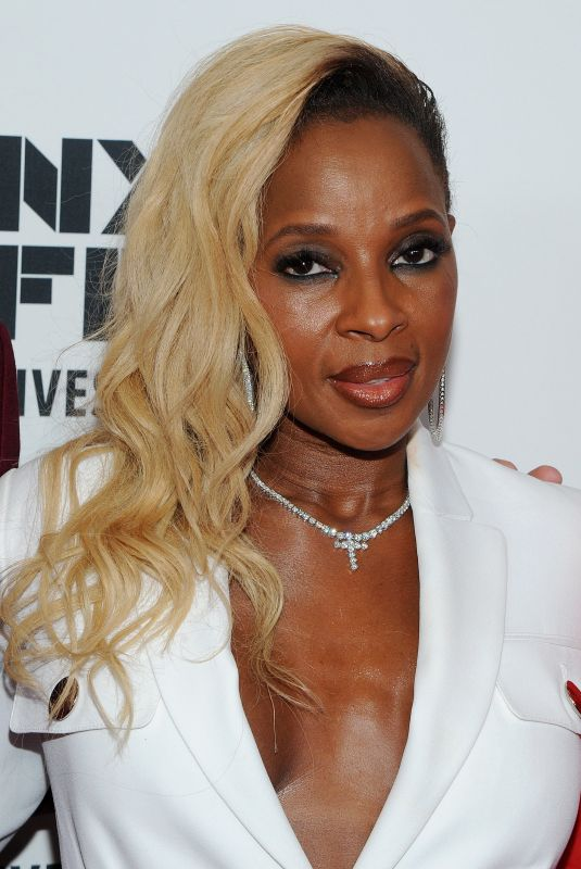 MARY J. BLIGE at Mudbound Premiere at 55th New York Film Festival 10/12/2017