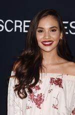 MARYCARMEN LOPEZ at Tragedy Girls Premiere at Screamfest Horror Film Festival in Los Angeles 10/15/2017