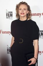 MAXINE PEAKE at Funny Cow Premiere at BFI London Film Festival 10/09/2017