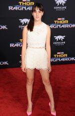 MAYA FRANK at Thor: Ragnarok Premiere in Los Angeles 10/10/2017