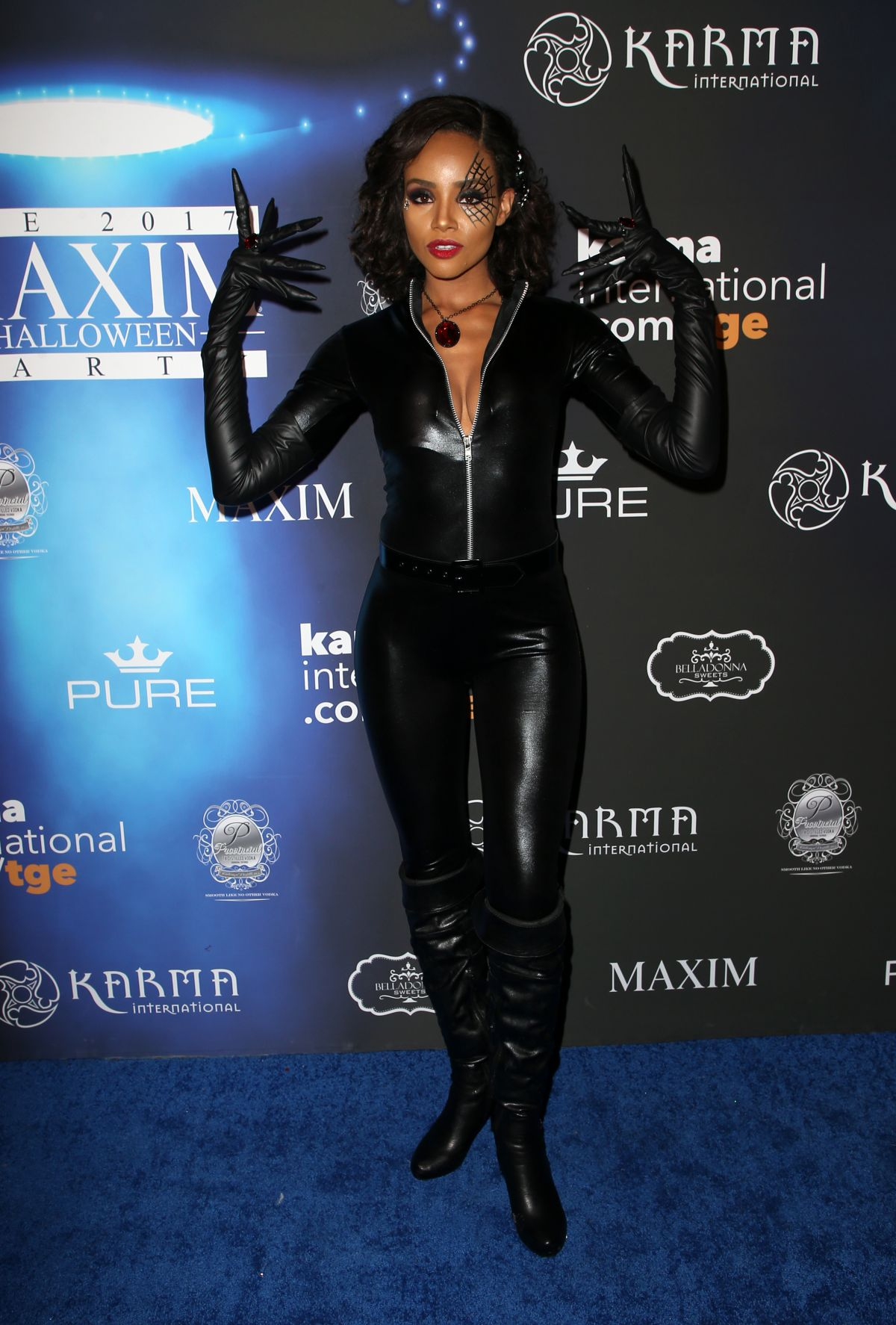 Mercedes Los Angeles >> MEAGAN TANDY at 2017 Maxim Halloween Party in Los Angeles ...