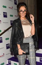 MEGAN MCKENNA at Spectacle Wearer of the Year in London 10/10/2017
