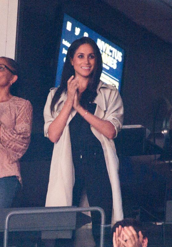 MEGHAN MARKLE at 2017 Invictus Games Closing Ceremony in Toronto 09/30/2017