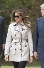 MELANIA and Donald TRUMP Out in Beltsville 10/13/2017