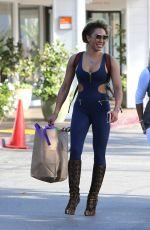 MELANIE BROWN Arrives at Il Segreto Restaurant in Los Angeles 10/03/2017