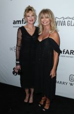 MELANIE GRIFFITH and GOLDIE HAWN at Amfar Inspiration Gala in Los Angeles 10/13/2017