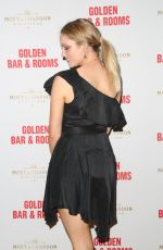 MELINA VIDLER at Double Bay Institution Launching The Golden Bar & Rooms in Sydney 10/11/2017