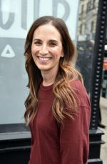 MELISSA BEN-ISHAY Arrives at AOL Build Studios in New York 10/13/2017