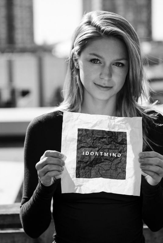 MELISSA BENOIST for idontmind.com, September 2017