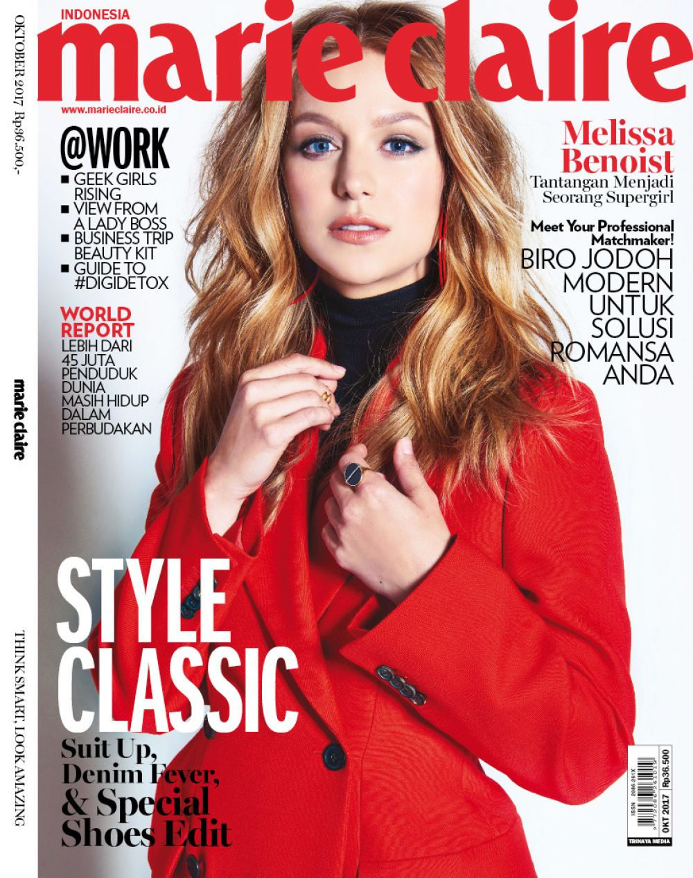 Get Marie Claire's Latest Work Magazine On Your Tablet For Only 69p