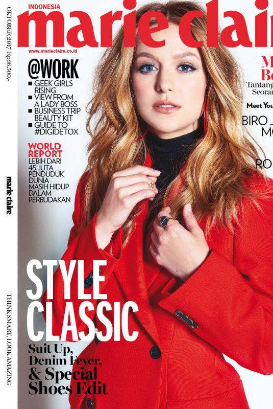 MELISSA BENOIST for Marie Claire Magazine , Indonesia October 2017