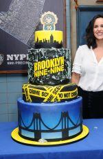 MELISSA FUMERO at Brooklyn Nine-nine 99th Episode Celebration in Los Angeles 10/04/2017
