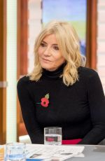 MICHELLE COLLINS at God Morning Britain in London 10/27/2017