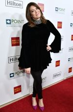 MICHELLE COLLINS at Point Honors Gala in Los Angeles 10/07/2017