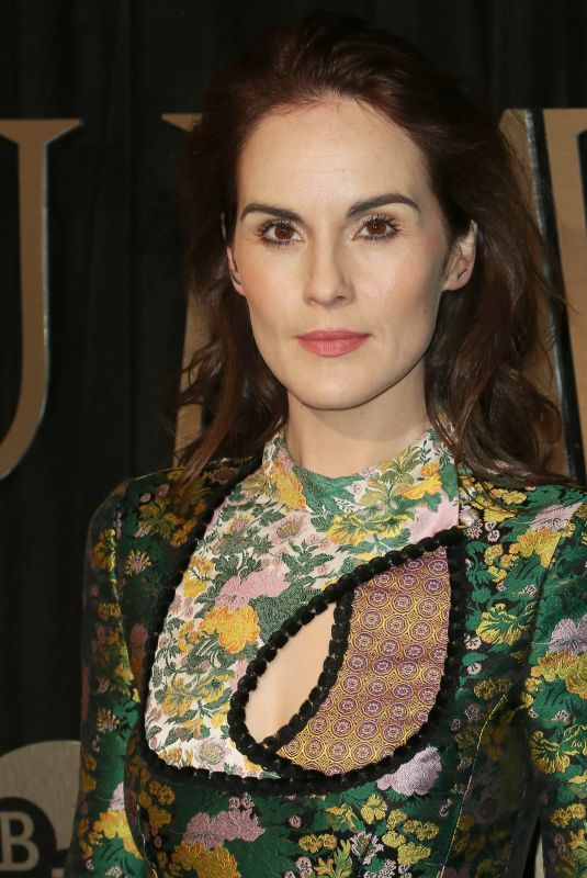 MICHELLE DOCKERY at BFI Luminous Fundraiser in London 10/03/2017