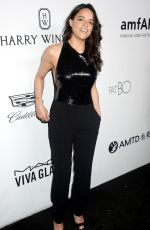 MICHELLE RODRIGUEZ at Amfar Inspiration Gala in Los Angeles 10/13/2017