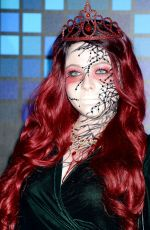MICHELLE TRACHTENBERG at Tequila Casamigos Halloween Bash in Los Angeles 10/27/2017