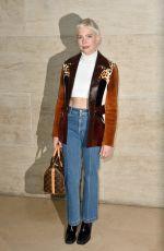 MICHELLE WILLIAMS at Louis Vuitton Fashion Show at Paris Fashion Week 10/03/2017