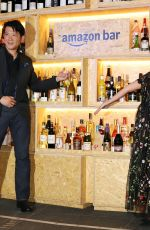 MIKA MIFUNE at Amazon Bar Opening in Tokyo 10/19/2017
