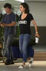 MILA KUNIS and Ken Jeong Out in Malibu 10/17/2017