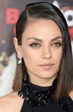 MILA KUNIS at A Bad Moms Christmas Premiere in Westwood 10/30/2017