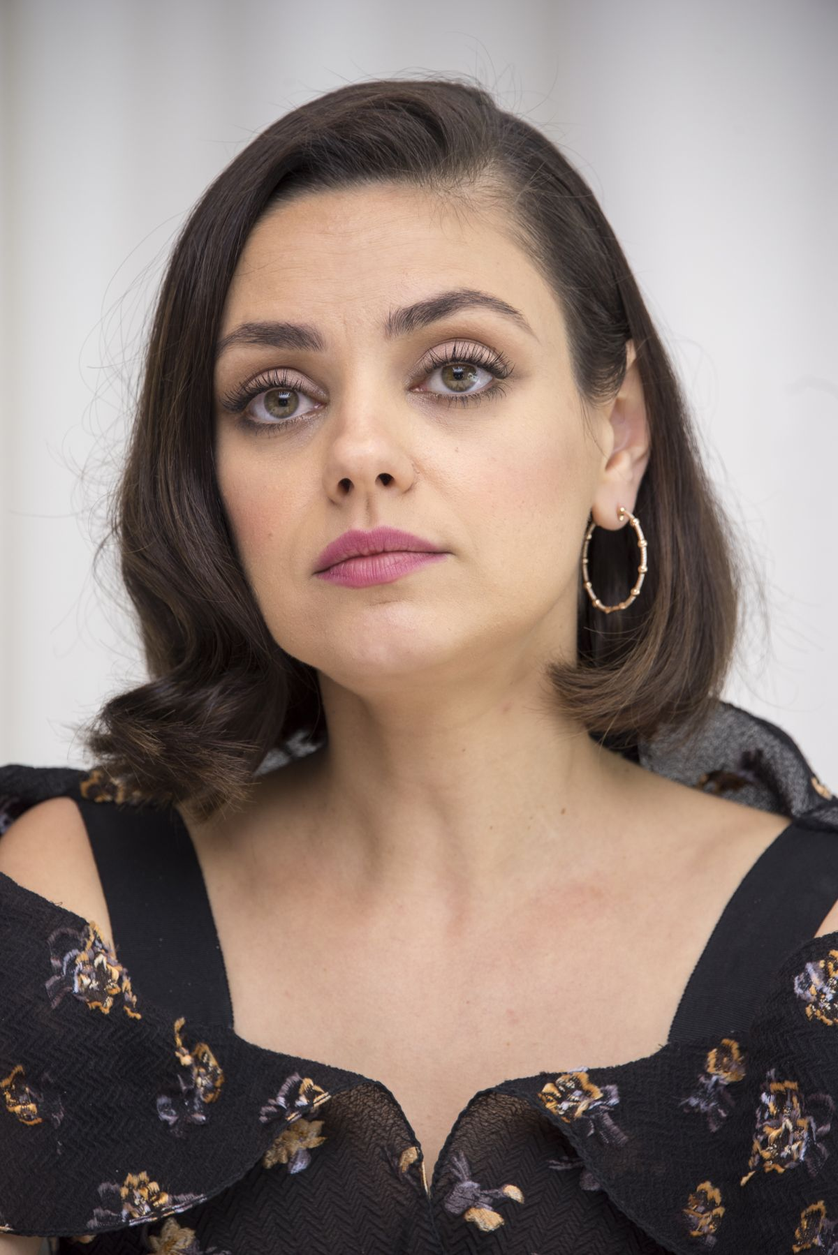 MILA KUNIS at A Bad Moms Christmas Press Conference in ... Mila Kunis