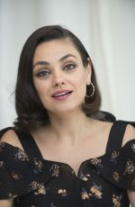 MILA KUNIS at A Bad Moms Christmas Press Conference in Beverly Hills 10/27/2017