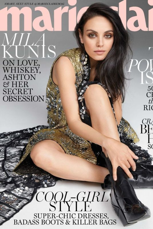 MILA KUNIS for Marie Claire Magazine, November 2017