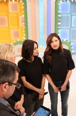 MILA KUNIS, KRISTEN BELL and KATHRYN HAHN  at The Price is Right 10/30/2017