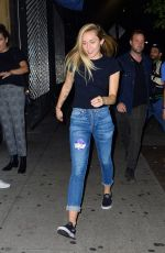 MILEY CYRUS Arrives at a Club in New York 10/08/2017