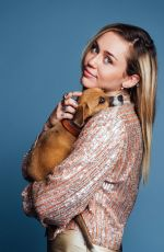 MILEY CYRUS for Buzzfeed, October 2017