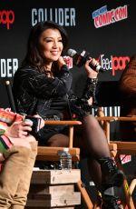 MING-NA WEN at Agents of S.H.I.E.L.D. Panel at Ney York Comic-con 10/07/2017