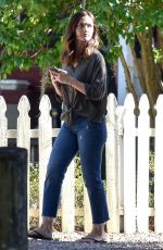 MINKA KELLY on the Set of The Bech House in Savannah 10/25/2017