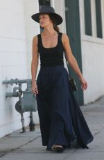 MINKA KELLY Out and About in Beverly Hills 10/11/2017