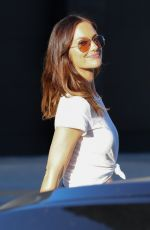 MINKA KELLY Out Shopping in Beverly Hills 10/06/2017