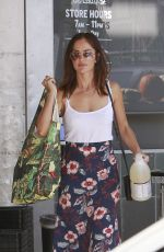 MINKA KELLY Shopping at Whole Foods in West Hollywood 10/13/2017