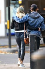MOLLIE KING Out and About in London 10/08/2017