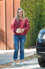 MOLLY SIMS Out and About in Los Angeles 10/04/2017