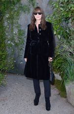 MONICA BELLUCCI at Chanel Fashion Show in Paris 10/03/2017