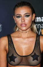 MONICA SIMS at 2017 Maxim Halloween Party in Los Angeles 10/21/2017