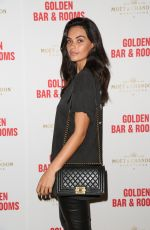 MONIKA CLARKE at Double Bay Institution Launching Golden Bar & Rooms in Sydney 10/11/2017