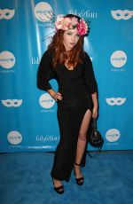 MORGAN SMITH GOODWIN at Unicef Next Generation Masquerade Ball in Los Angeles 10/27/2017