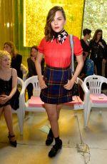 MORGANE POLANSKI at Miu Miu Fashion Show in Paris 10/03/2017