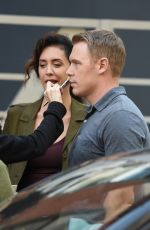 MOZHAN MARNO on the Set of The Blacklist in New York 10/03/2017