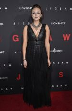 MYKIE at Jigsaw Premiere in Los Angeles 10/25/2017