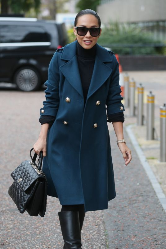 MYLEENE KLASS Out and About in London 10/09/2017