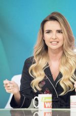 NADINE COYLE at Loose Women Show in London 10/26/2017