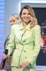 NADINE COYLE at Lorraine Show in London 10/10/2017